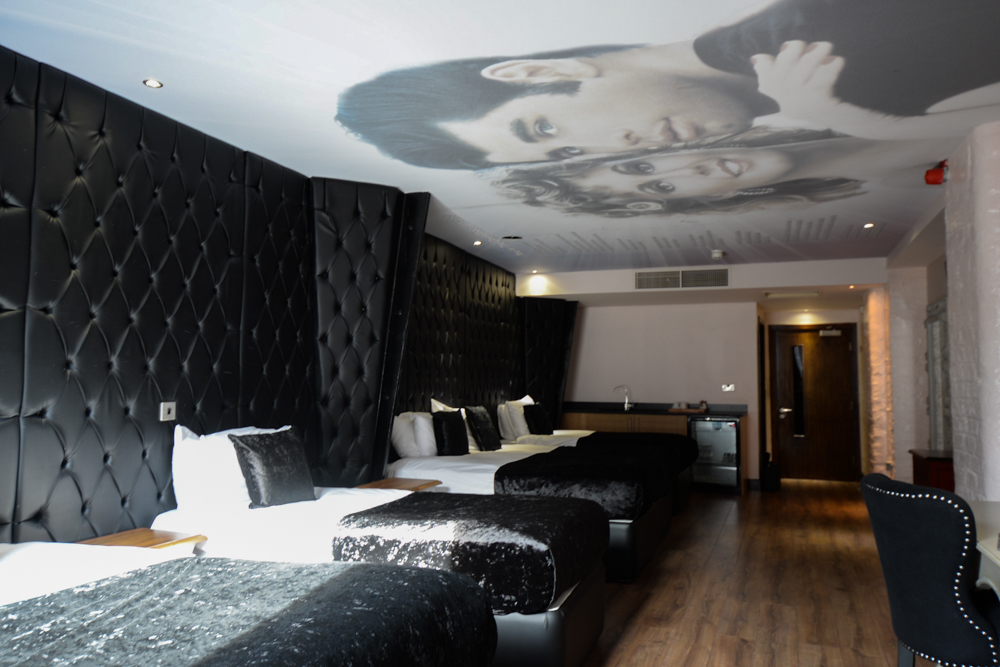 Grease - musical movie themed Liverpool hotel room