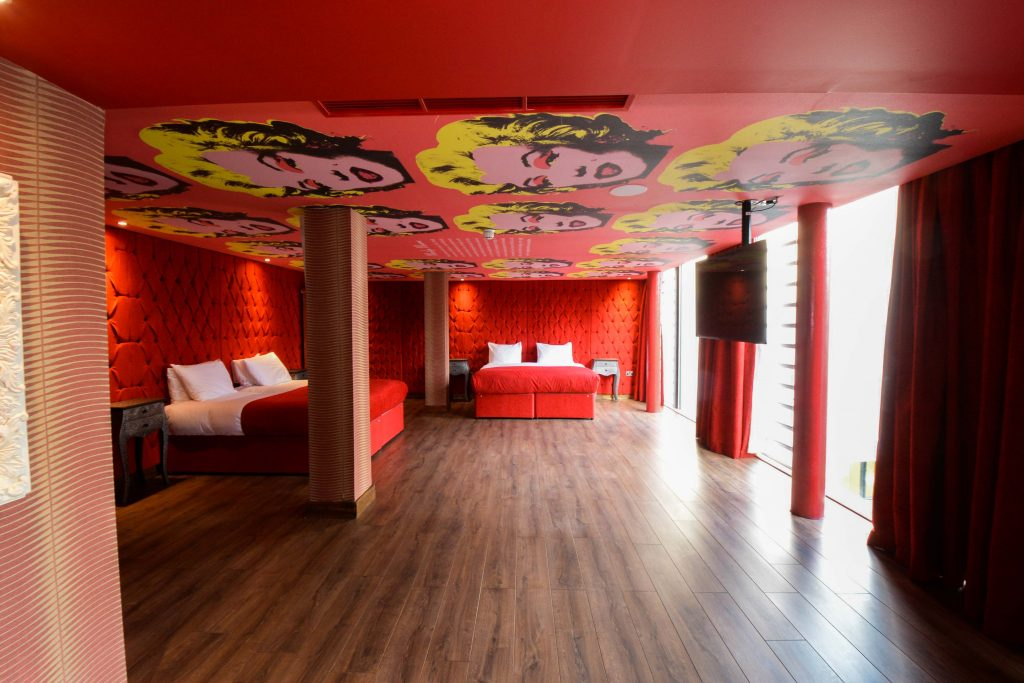 Marilyn Monroe room - Arthouse hotel