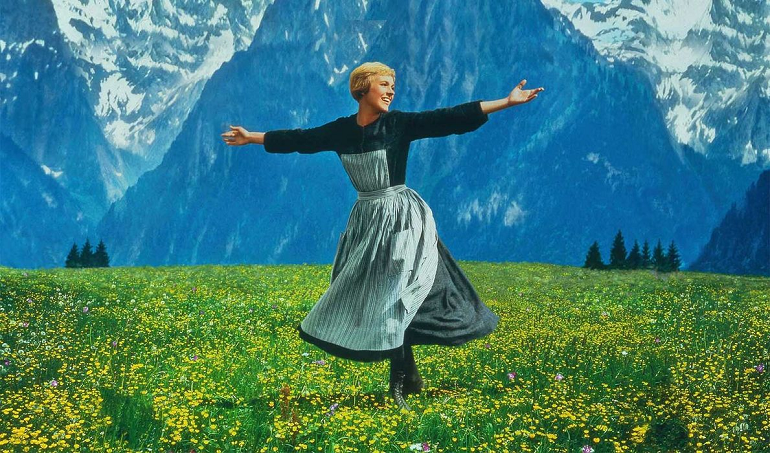 Sound of music - Julie Andrews