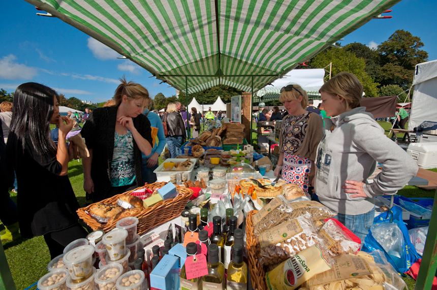 Liverpool food and drink festival - Sefton Park Easter Bank Holiday weekend Liverpool