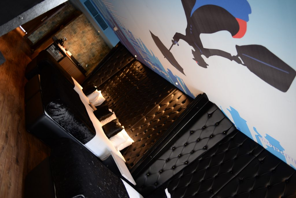 Mary Poppins movie themed Liverpool hotel room