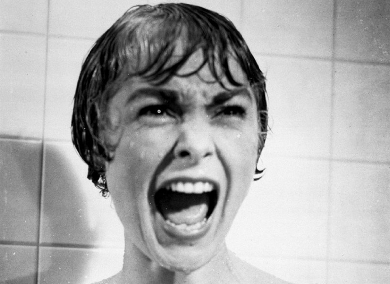 Janet Leigh in Psycho, Alfred Hitchcock