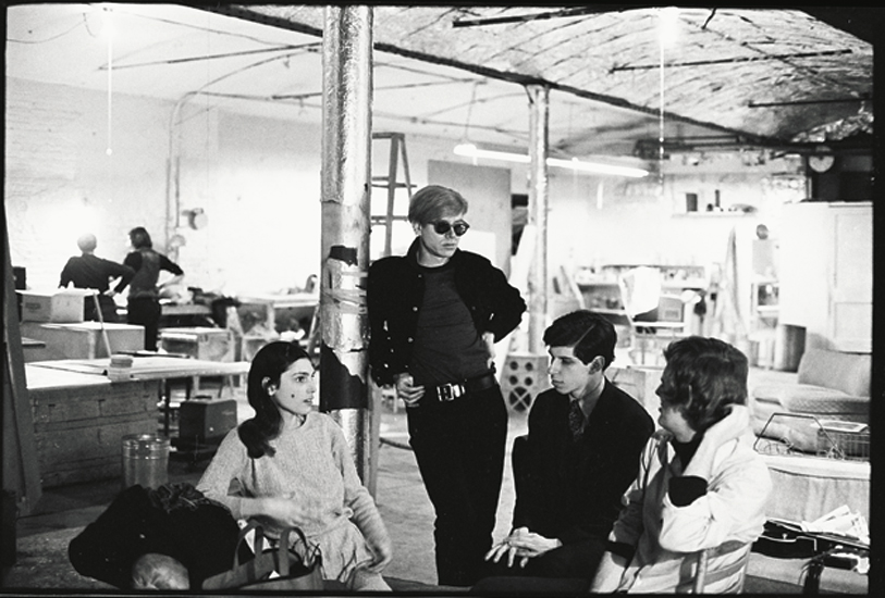 Andy Warhol at The Factory