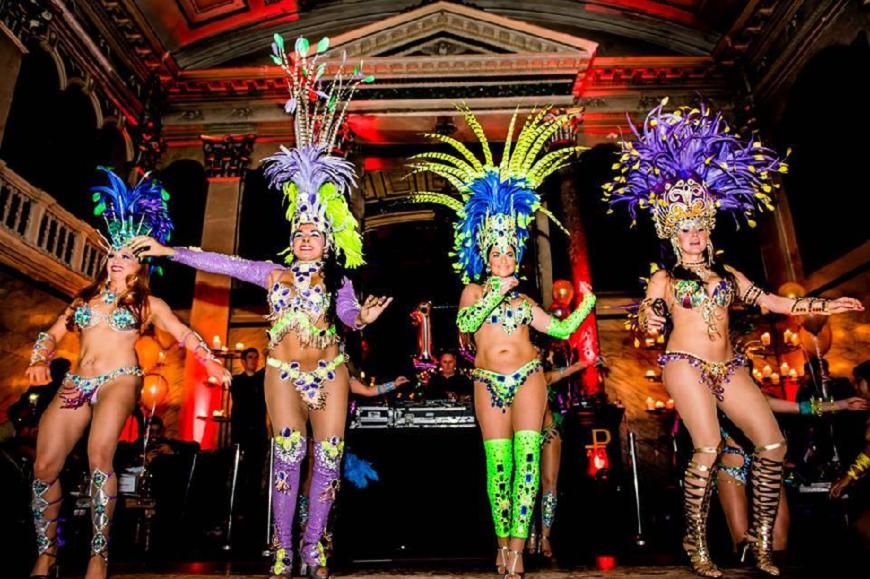Alma de Cuba Dancers - date night in Liverpool