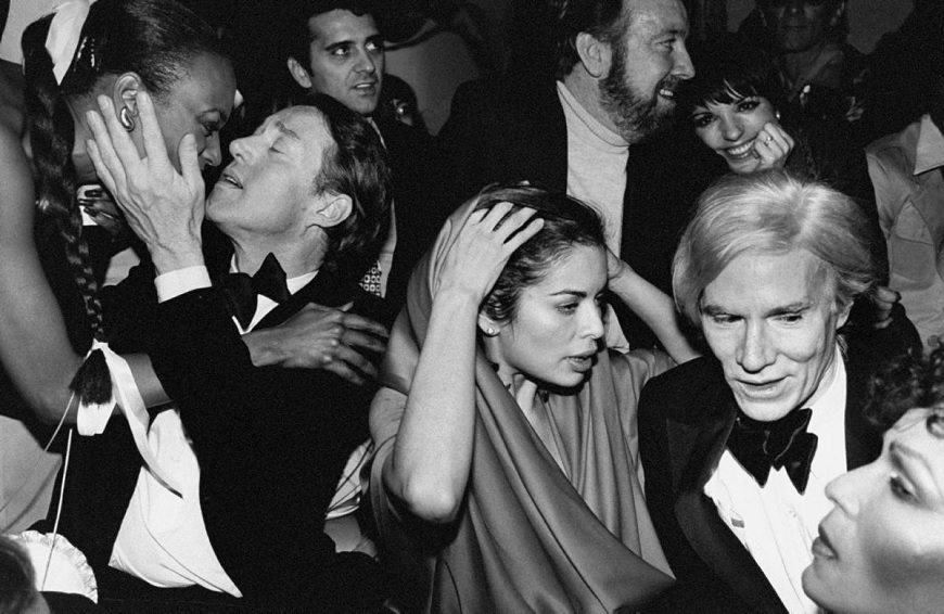 Lisa Minnelli and Andy Warhol