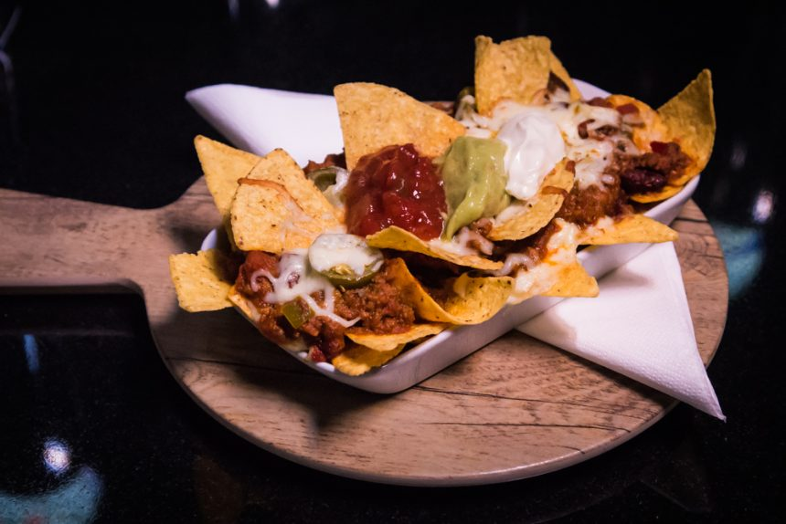 nachos for a date night in Liverpool