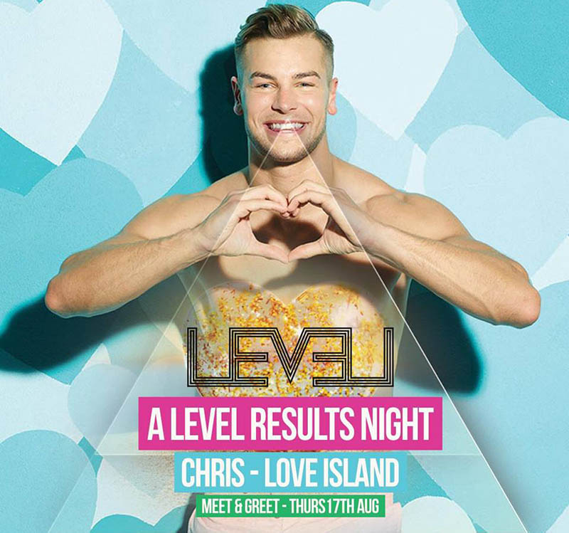 Event LEVEL Chris Love Island