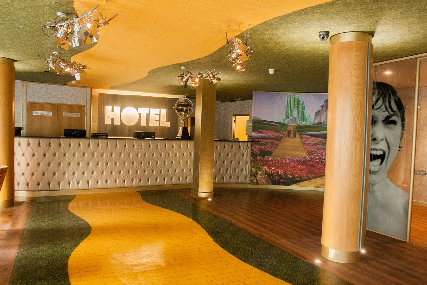 movie themed hotel rooms at Arthouse Hotel