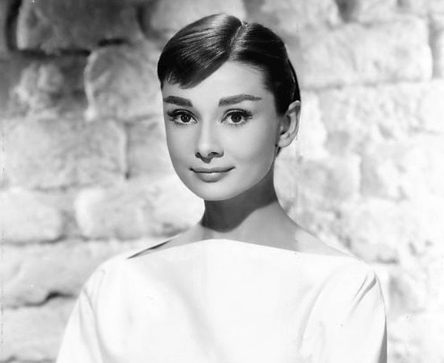 female movie stars Audrey Hepburn