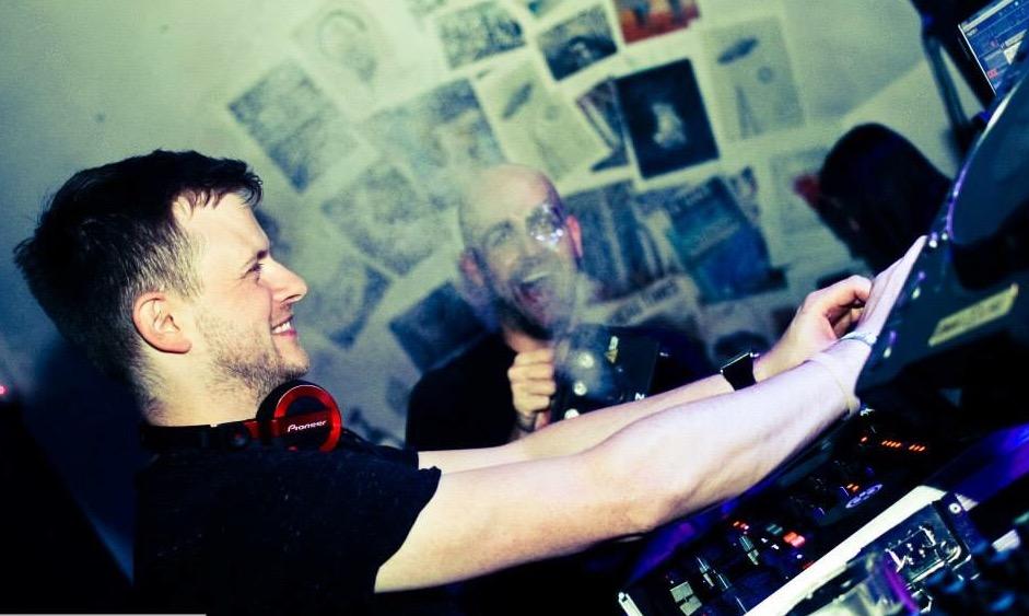 DJ performing - ultimate club night Liverpool