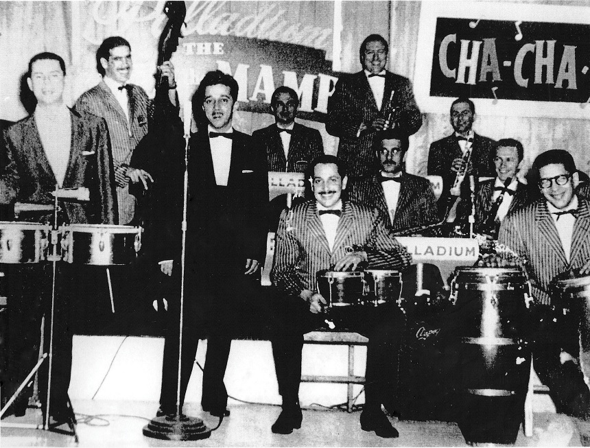 Salsa music bands -Tito Puente,Santos Colon y Ray Barretto