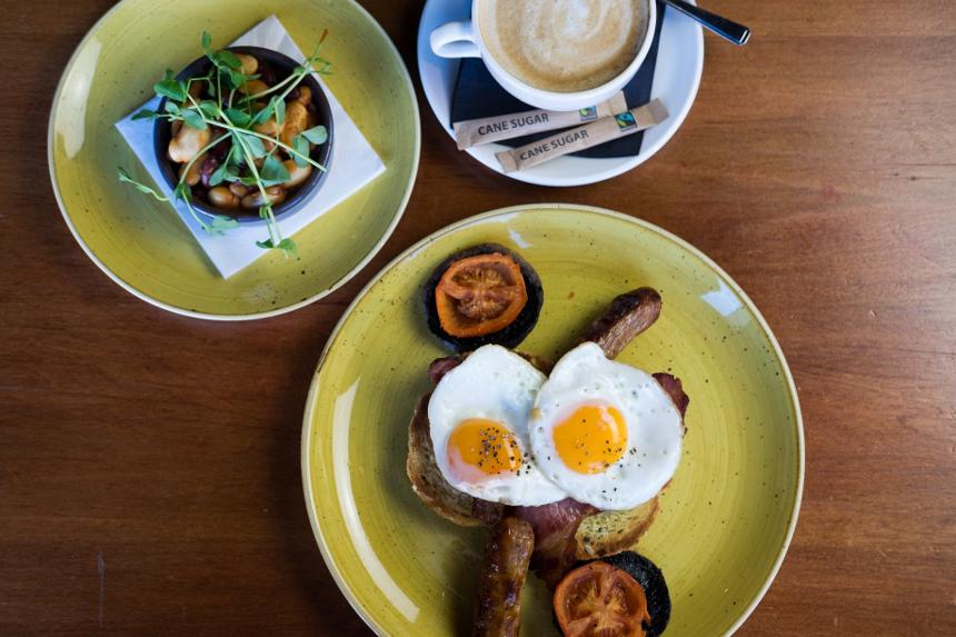 Alma de Cuba breakfast menu