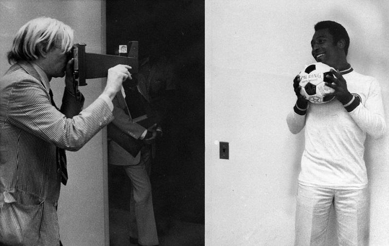 Andy Warhol and Pele