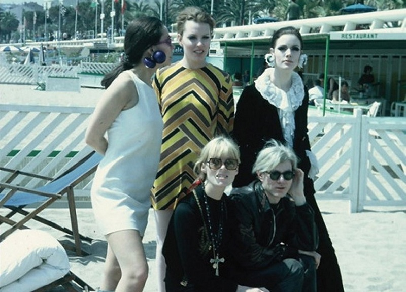 Warhol and his superstars at Cannes Film Festival