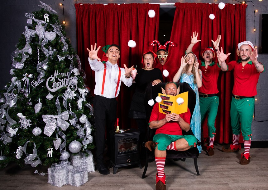 Mulholland Singing diner Santa and the Singing Elves - Christmas Grottos in Liverpool