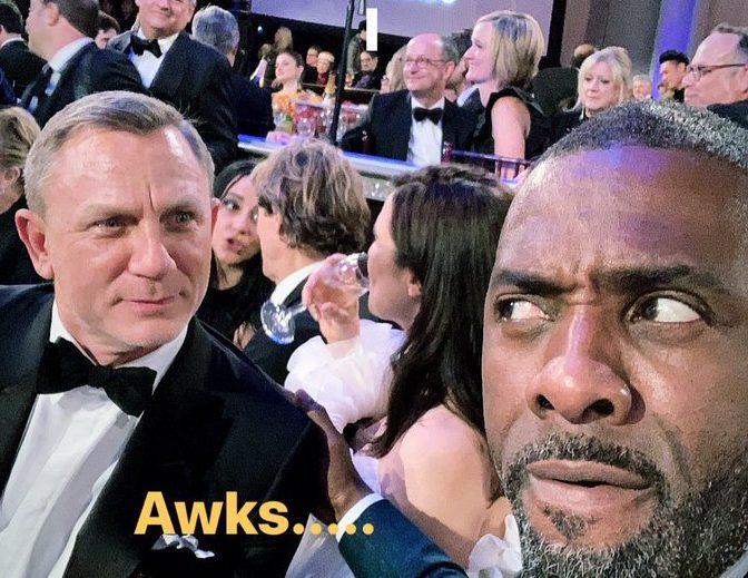 Idris Elba & Daniel Craig