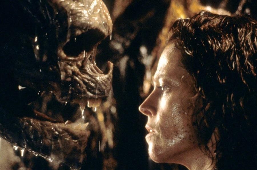 Ellen Ripley - mom movie moment