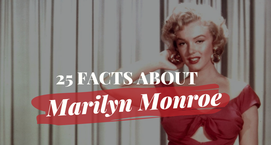 dc97b98501 25 Marilyn Monroe Facts About Her Life and Career
